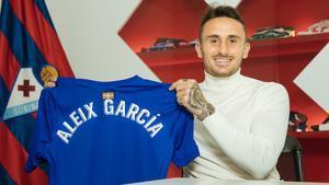 Aleix Gracía ya es jugador del Eibar
