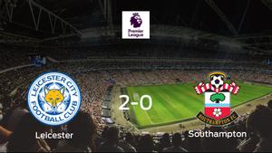 El Leicester City se hace fuerte en casa y vence al Southampton (2-0)