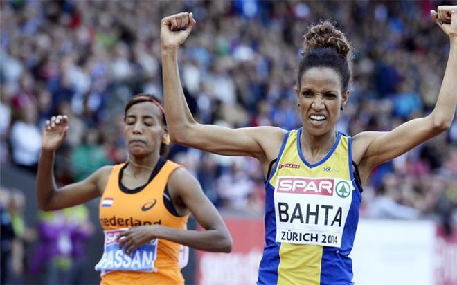 Bahta se adjudicó el oro tras vencer en los metros finales a la holandesa Hassan