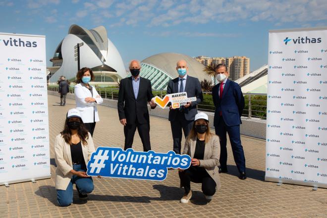 Vithas renueva su compromiso con el Medio Maratón y Maratón Valencia