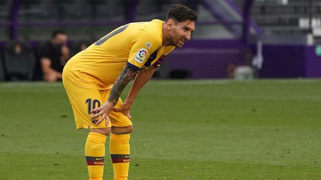 Setién: Messi también tiene que descansar