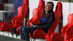 Setién: El Barcelona es un club tan grande que seguramente algo habrá que cambiar