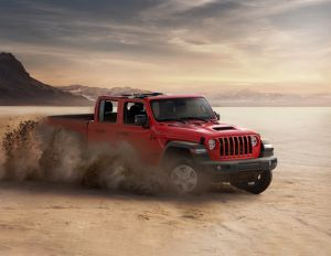 Jeep Gladiator, la versión pick-up del Wrangler