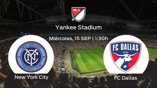 Previa del encuentro: el New York City recibe al FC Dallas
