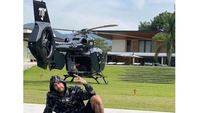 El helicóptero de Ney