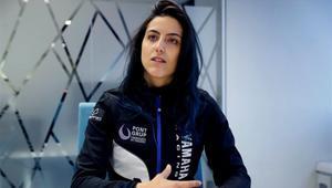 Sara García es la primera española en la categoría motos del Dakar