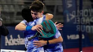 Tello y Chingotto celebran su victoria