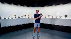 El 20º título de Grand Slam ya se encuentra en el Rafa Nadal Museum