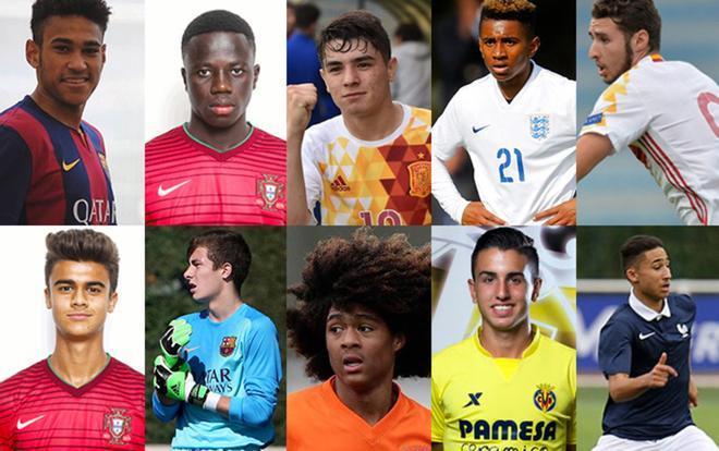 Diez de los jugadores con más futuro del Europeo sub17