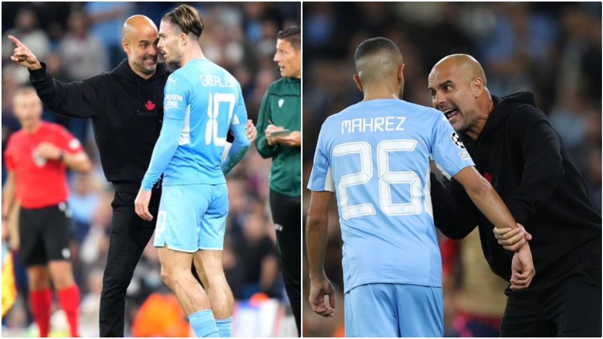 Guardiola les recriminó aspectos defensivos durante el encuentro