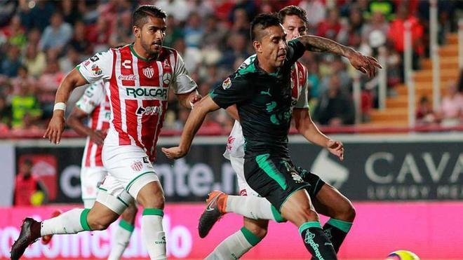 Necaxa se impuso a Santos Laguna en semifinales
