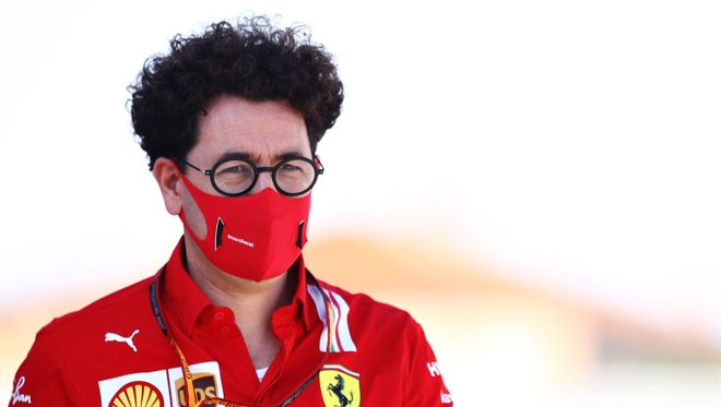 Binotto, team principal de Ferrari