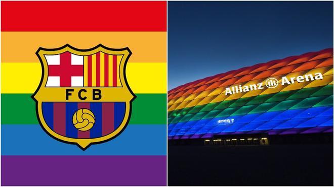 El Barça, a favor de los derechos LGTB