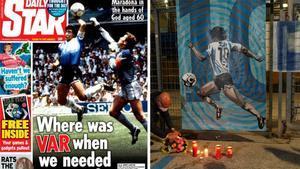 Diego Armando Maradona ocupa este jueves todas las portadas