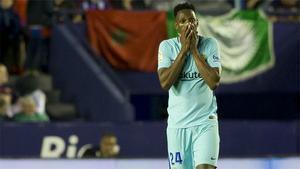 NOTICIA SPORT: Yerry Mina dejará de ser jugador del Barça durante la gira por EE.UU.