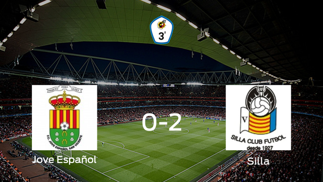 El Silla CF se lleva la victoria después de derrotar 0-2 al Jove Español