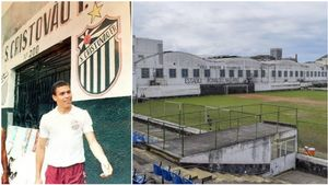 Ronaldo se formó en el São Cristovão antes de saltar al fútbol profesional