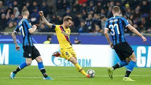 La arrancada de Rakitic desde campo propio que casi terminó en gol