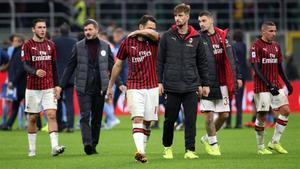 El Milan está haciendo una temporada decepcionante