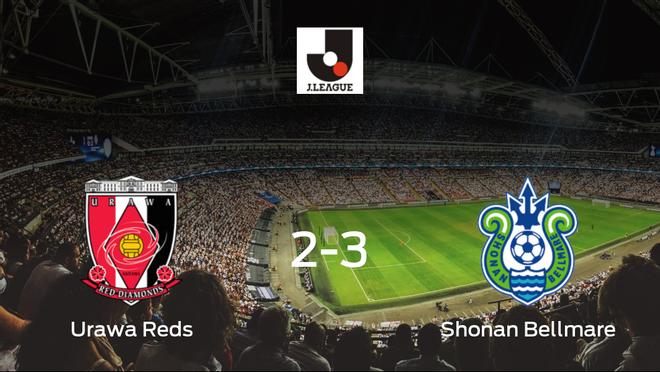 El Shonan Bellmare consigue los tres puntos después de vencer 2-3 al Urawa Reds