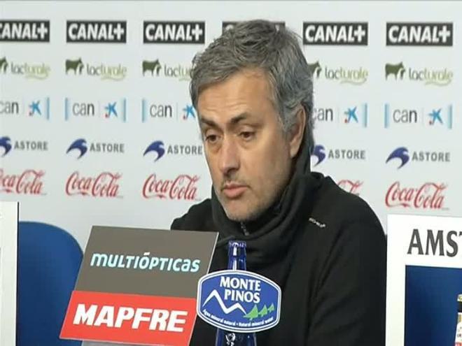 Mourinho: En las primeras jornadas sucedieron cosas de las que no quiero hablar