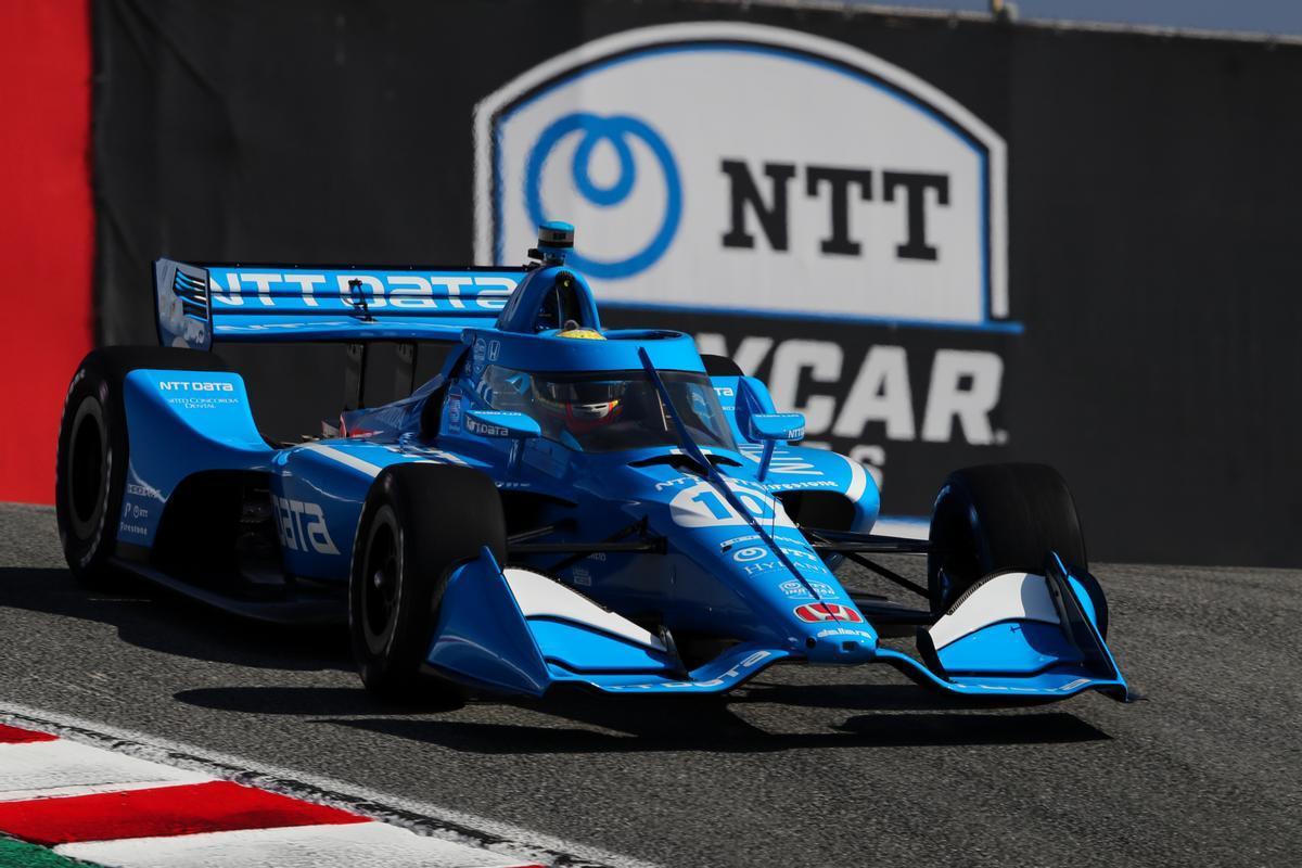 Práctica de apertura de Alex Palou en el Grand Prix de Monterey