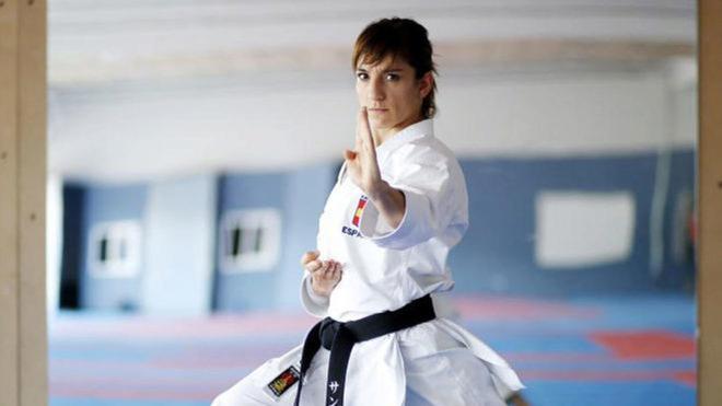Sandra Sánchez es la referente número uno del Karate femenino