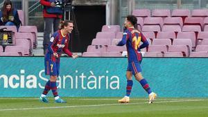 Philippe Coutino anotó un gol ante Osasuna tras asistencia de Antoine Griezmann