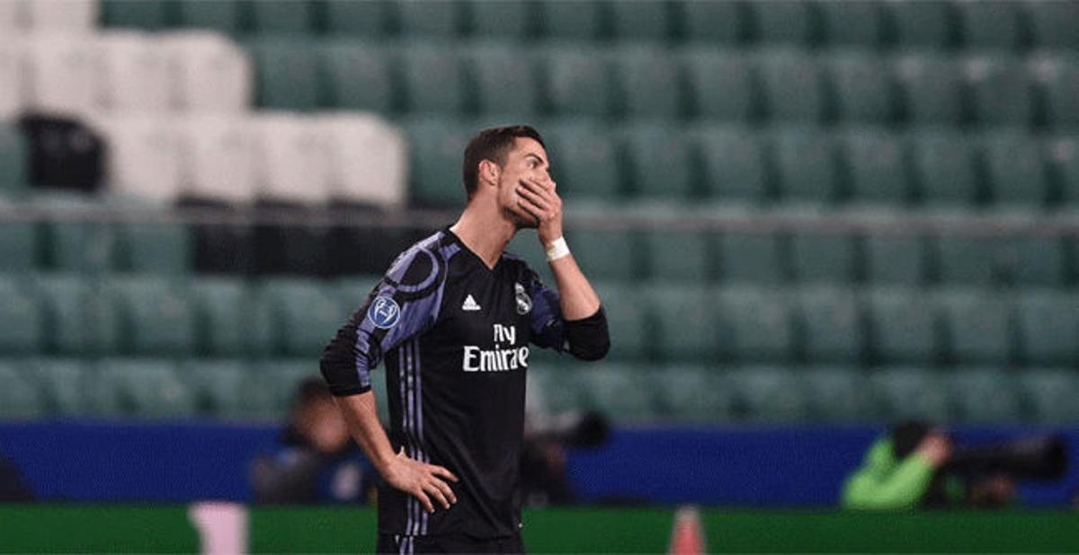 Las mejores imágenes del Legia - Real Madrid (3-3)
