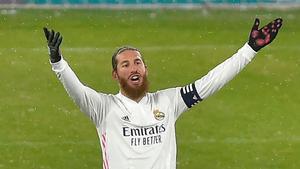 La renovación de Sergio Ramos está congelada