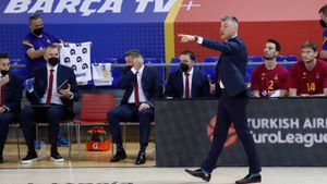 Jasikevicius, contento con la actuación de su equipo