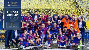 El Barça, principal protagonista en los Futsal Planet Awards 2020