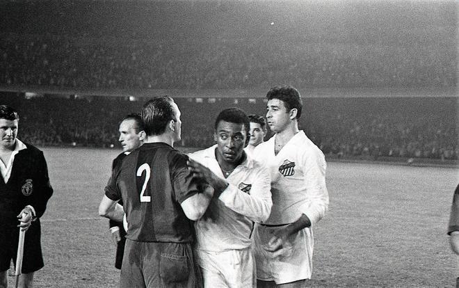 La trilogía de Pelé en el Camp Nou