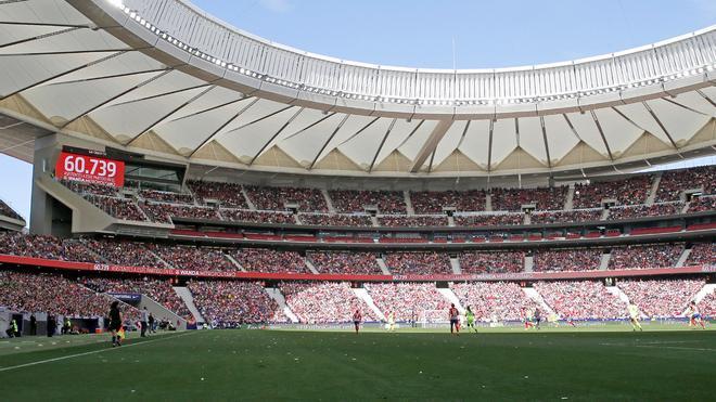 El Wanda podría acoger también los partidos del Real Madrid