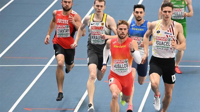 Óscar Husillos se clasificó para las semifinales de los campeonatos de Europa