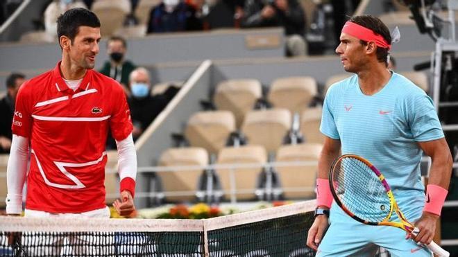 Nadal y Djokovic, en una imagen de archivo