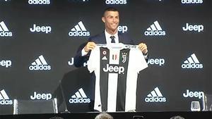 Así ha sido la presentación de Cristiano Ronaldo con la Juventus