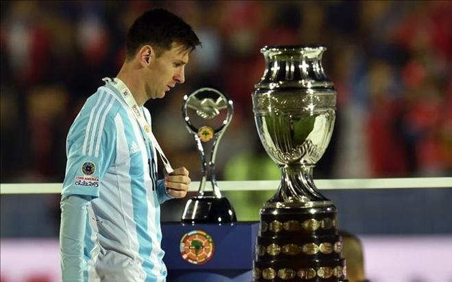 Messi, tras la final de la Copa América