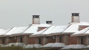 Nieve, lluvia y frío en Madrid