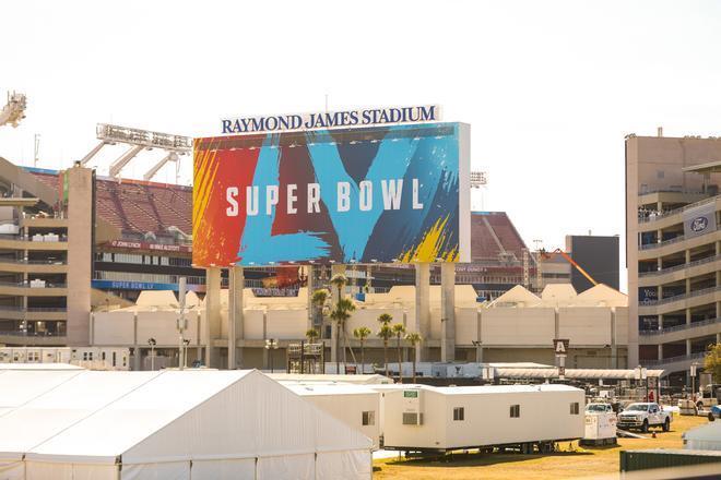 El estadio Raymond James de Tampa acogerá la LV Super Bowl