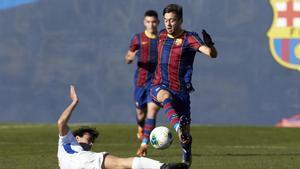 El Juvenil A, en un partido ante el Europa