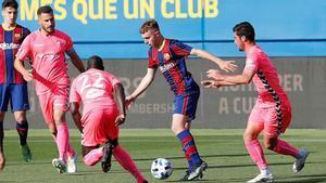 Peque suma cinco titularidades consecutivas y viene de marcar un golazo en Ibiza