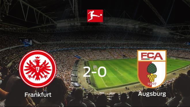 El Eintracht Frankfurt consigue la victoria en casa frente al FC Augsburg (2-0)