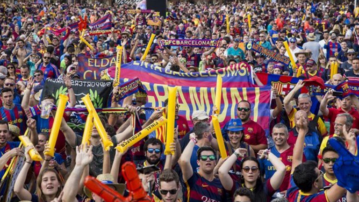 El movimiento de peñas del FC Barcelona pide un acuerdo con el FC Barcelona
