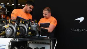 Positivo entre el personal de McLaren
