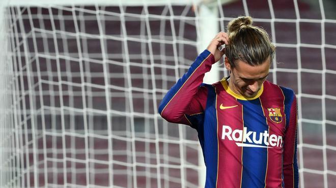 A Griezmann se le sigue resistiendo el gol en Europa