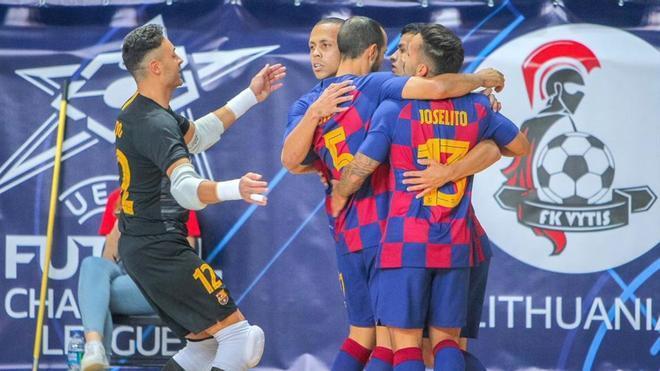 El Barça encarriló la primera plaza de grupo ante el Tyumen