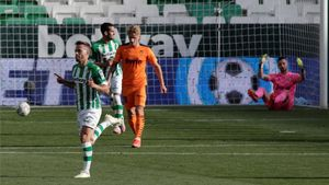 Reparto de puntos entre el Betis y el Valencia