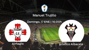 Previa del partido: el Atlético Albacete defiende su liderato ante el Almagro