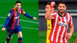 Messi y Suárez, frente a frente